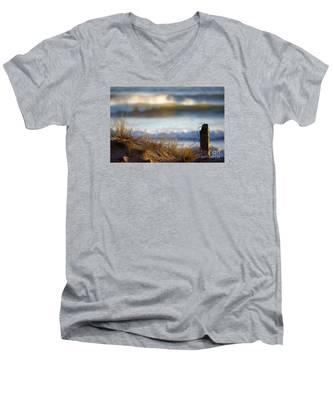 Sun Kissed Waves Men's V-Neck T-Shirt