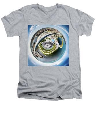 The Big Gig Men's V-Neck T-Shirt