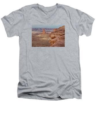 The Candlesticks II Men's V-Neck T-Shirt