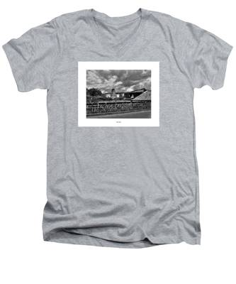 Men's V-Neck T-Shirt featuring the photograph The Epic by Joseph Amaral