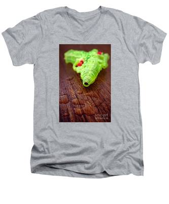 Toy Water Pistol Men's V-Neck T-Shirt