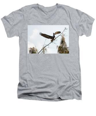 Tree Landing Men's V-Neck T-Shirt