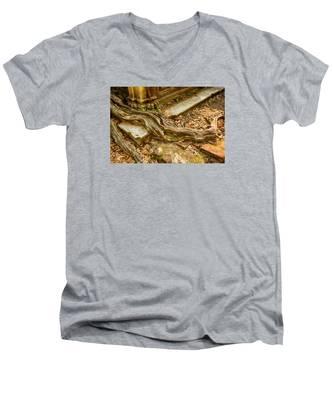 Twisted Root Men's V-Neck T-Shirt