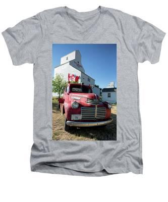 Val Marie, Sk Men's V-Neck T-Shirt