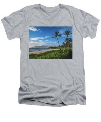 Wailea Beach Men's V-Neck T-Shirt