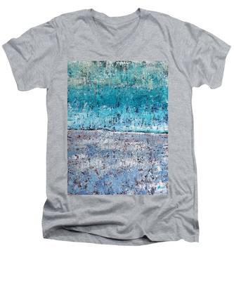 Wintry Mesa Men's V-Neck T-Shirt