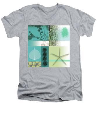 Cipher I Men's V-Neck T-Shirt