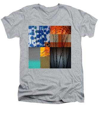 Nocturne II Men's V-Neck T-Shirt