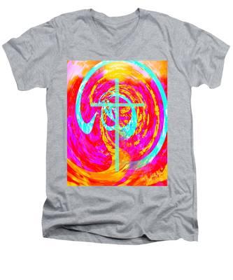 614 Men's V-Neck T-Shirt