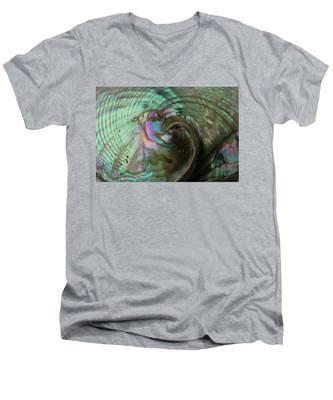 Abalone_shell_9903 Men's V-Neck T-Shirt
