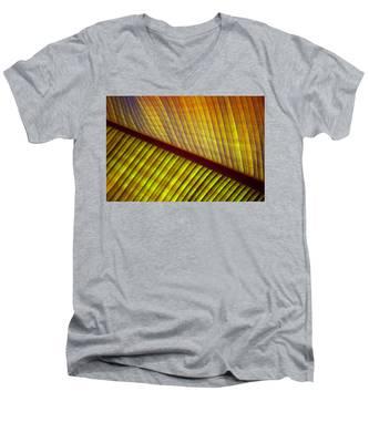 Banana Leaf 8603 Men's V-Neck T-Shirt