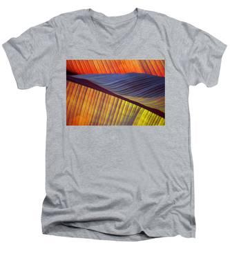 Banana Leaf 8613 Men's V-Neck T-Shirt