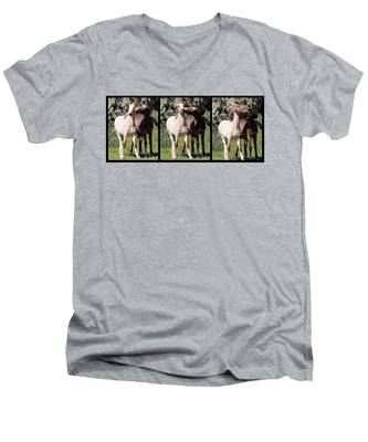 Best Friends Forever Men's V-Neck T-Shirt