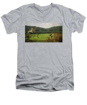Bunny Men's V-Neck T-Shirt