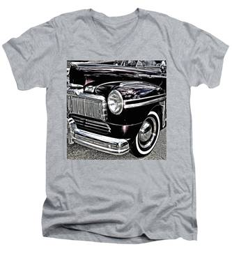 Classic Mercury Men's V-Neck T-Shirt