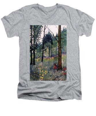 Codbeck Forest Men's V-Neck T-Shirt