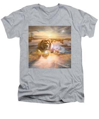 Divine Rest Men's V-Neck T-Shirt