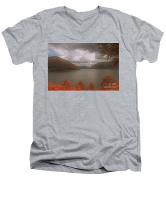 Kinzua Lake Men's V-Neck T-Shirt