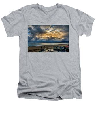 New Sky After The Rain Men's V-Neck T-Shirt