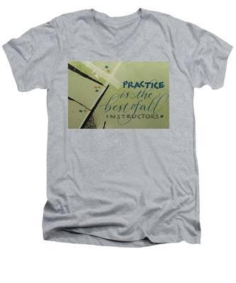 Practice Men's V-Neck T-Shirt