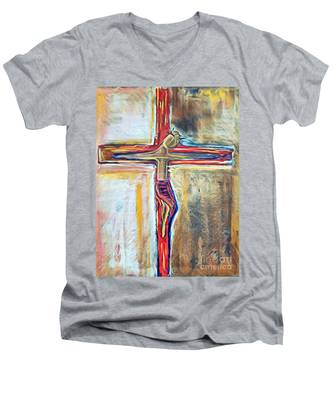 Saviour Men's V-Neck T-Shirt