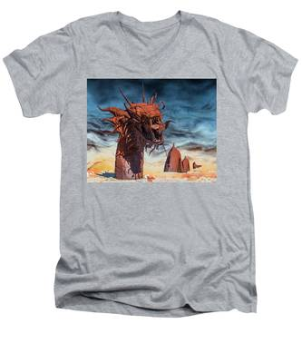 Serpent Men's V-Neck T-Shirt