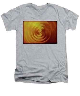 Spiral Men's V-Neck T-Shirt
