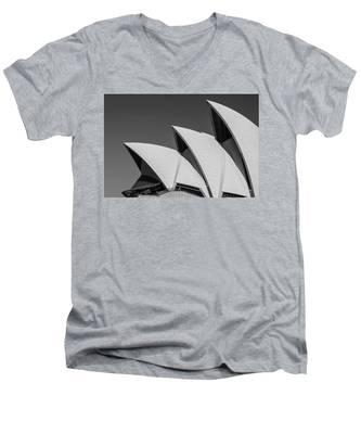 Sydney_opera Men's V-Neck T-Shirt