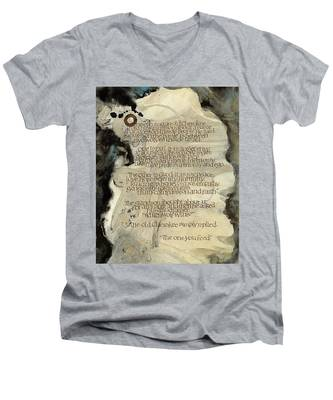 The Tale Of Two Wolves Men's V-Neck T-Shirt
