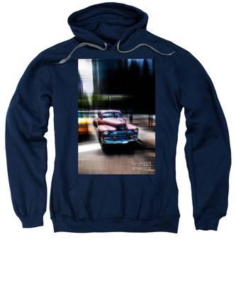 attracting curves III2 Sweatshirt