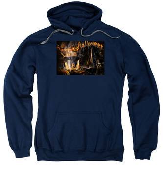 Halloween' Spirit Greeting Card Sweatshirt