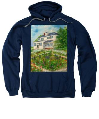 Spring In Colonial Williamsburg- Cole House Sweatshirt