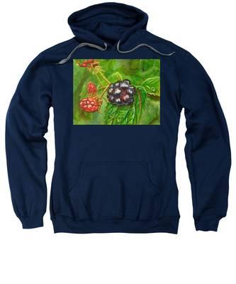 Wild Blackberries Sweatshirt