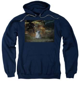 A Haunted Story In Dahlonega Sweatshirt