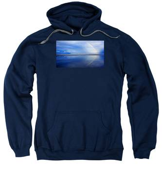 Beach Rainbow Reflection Sweatshirt