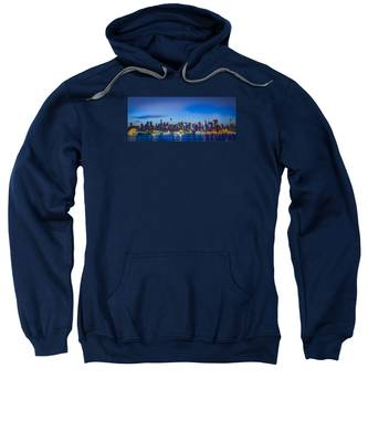 Skyline Nyc Before Sunrise Sweatshirt
