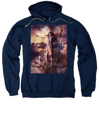 Wolf Clan Warrior Sweatshirt