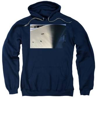 Bow Of Mega Yacht Sweatshirt
