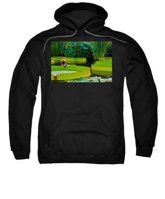 A Garden In Gentle Waters Sweatshirt