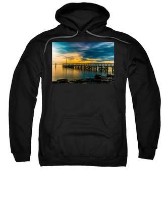 Birds On The Dock Sweatshirt