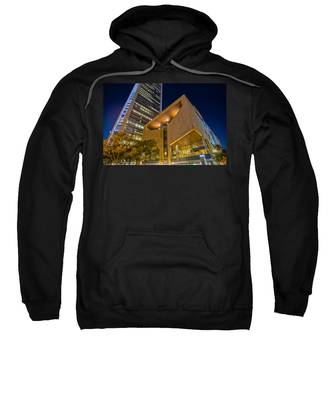 Buildings And Architecture Around Mint Museum In Charlotte North Sweatshirt
