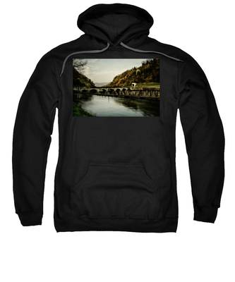 Dam On Adda River Sweatshirt