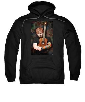Ed Sheeran And Song Titles Sweatshirt