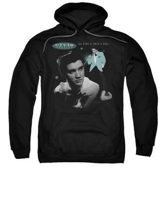 Teal Hooded Sweatshirts T-Shirts