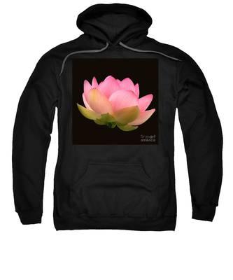 Glowing Lotus Square Frame Sweatshirt