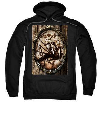 Happy Halloween IIi Sepia Version Sweatshirt