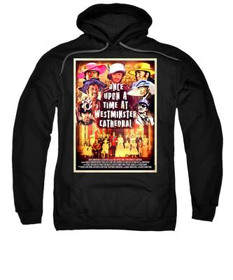 Sweatshirt featuring the digital art Once Upon A Time by Mark Armstrong