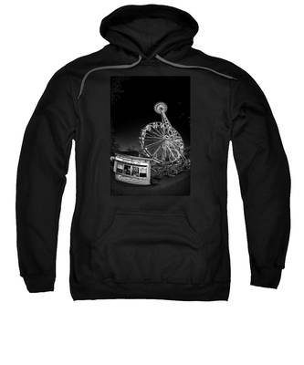 Space Needle Fights The End Of The World Sweatshirt