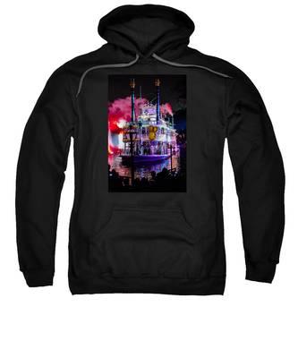 The Mark Twain Disneyland Steamboat  Sweatshirt