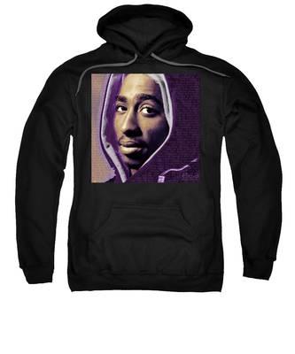Tupac Shakur And Lyrics Sweatshirt